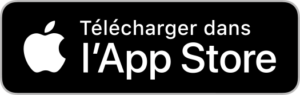 Télécharger l'application via l'App Store